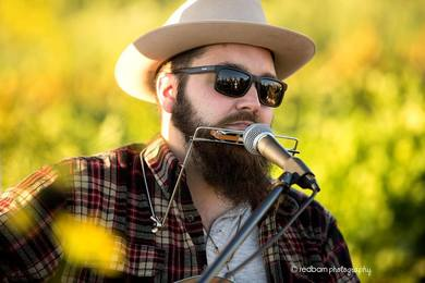 J. Jeffrey Messerole live music at Soldier Creek Winery