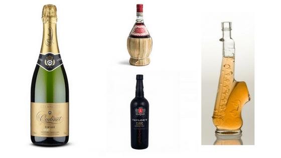 Different bottle shapes