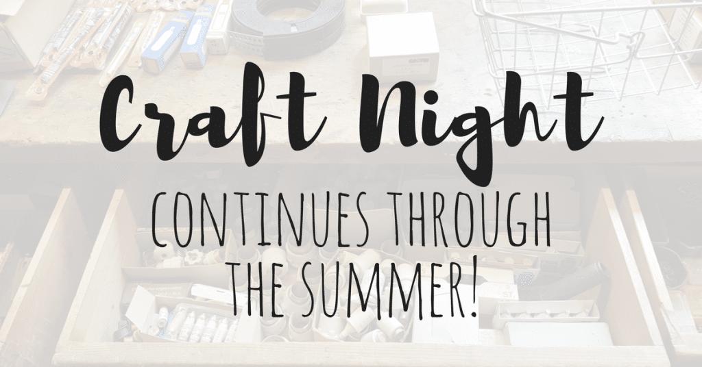 summer craft night