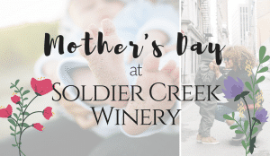 Mother's Day spritzers at Soldier Creek Winery