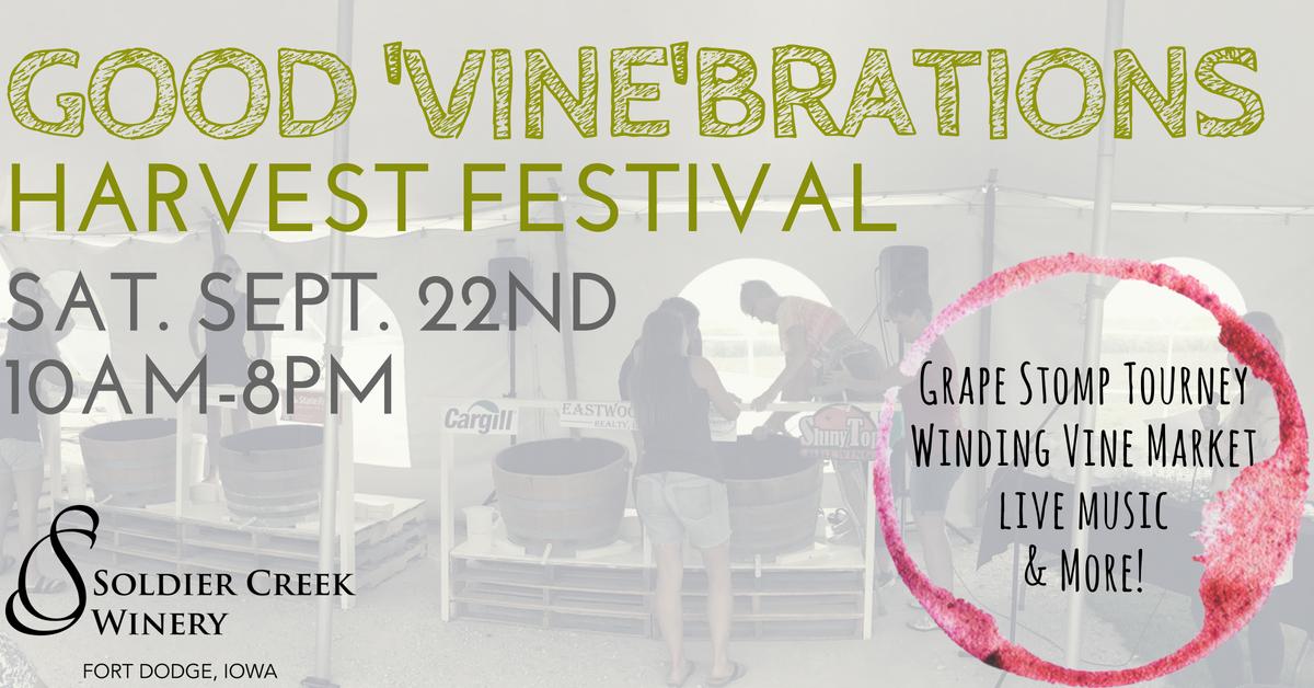 Good 'Vine'brations Harvest Festival 2018