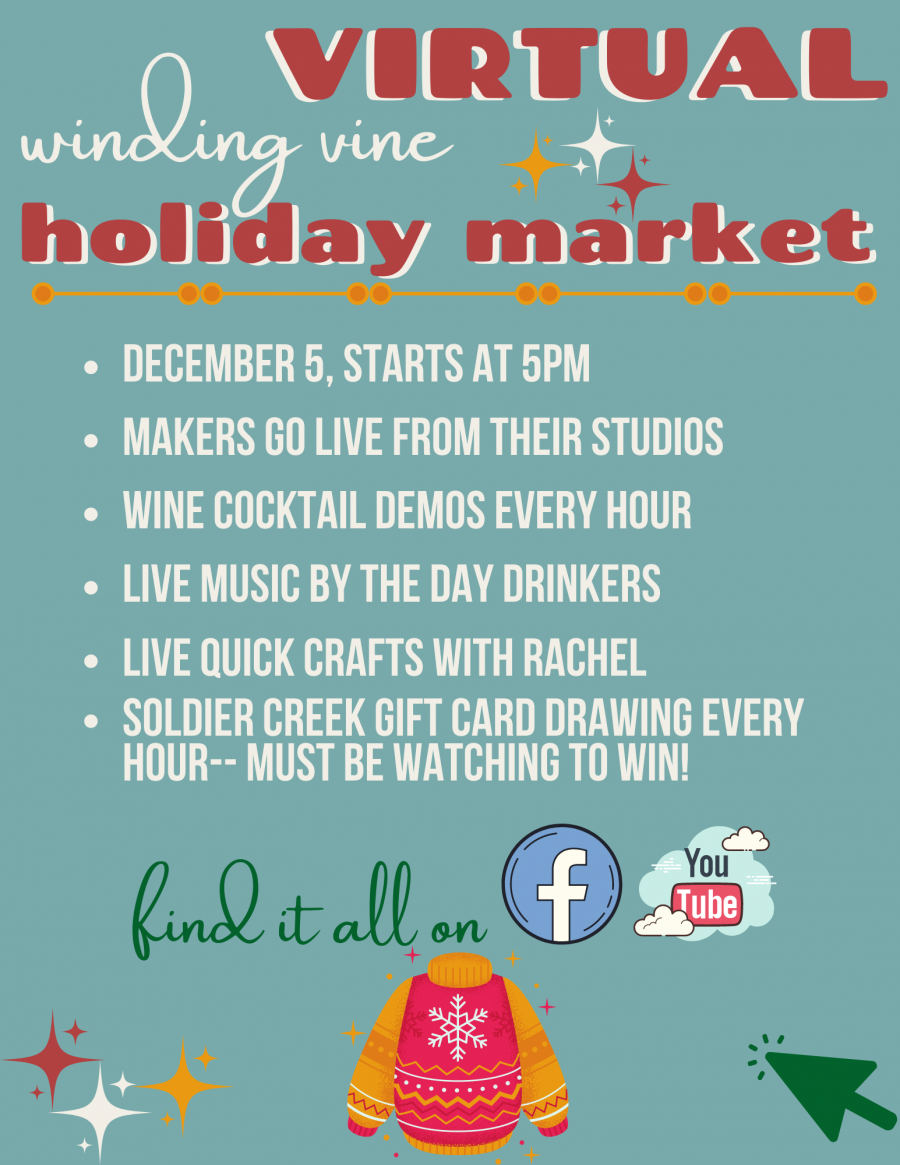 {Virtual} Winding Vine Holiday Market